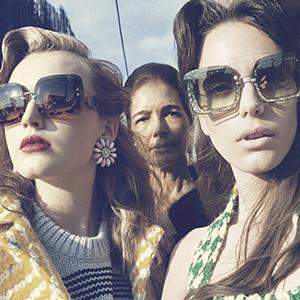 CHLOE CHILL FASHION BLOG | Miu Miu Fall Winter 2015-2016 campaign starring Maddison Brown, Hailey Gates, Mia Goth and Stacy Martin