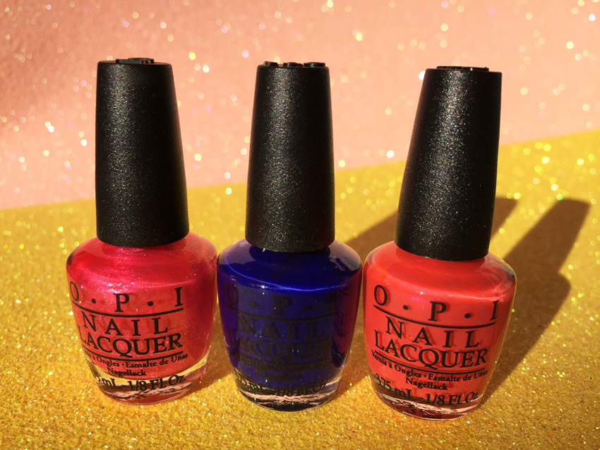 AUSTRALIAN-BEAUTY-AND-FASHION-BLOG-OPI-brights-mini-nail-laquers-in-dark-pink-blue-and-orange