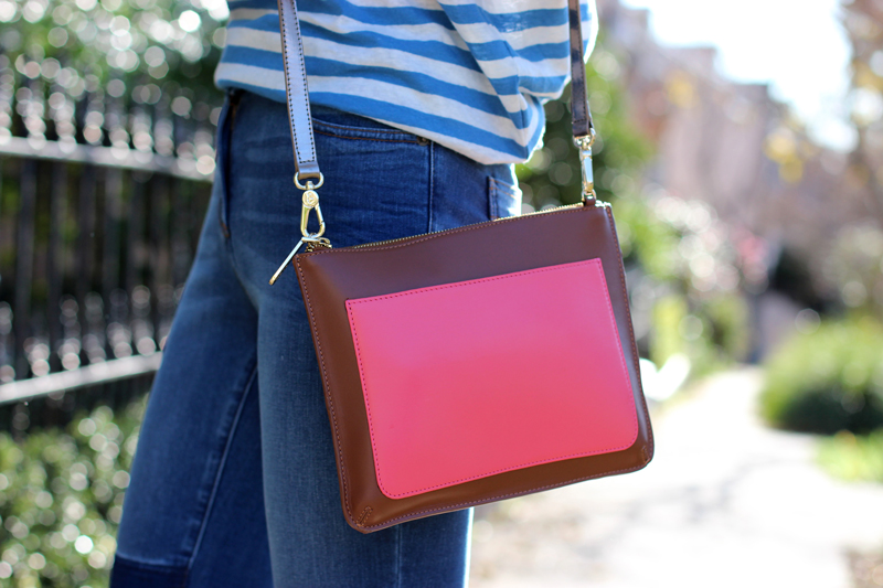 Chloe-Chill-Fashion-Blog-feat-tan-and-coral-panel-shoulder-bag-on-the-streets-of-paddington