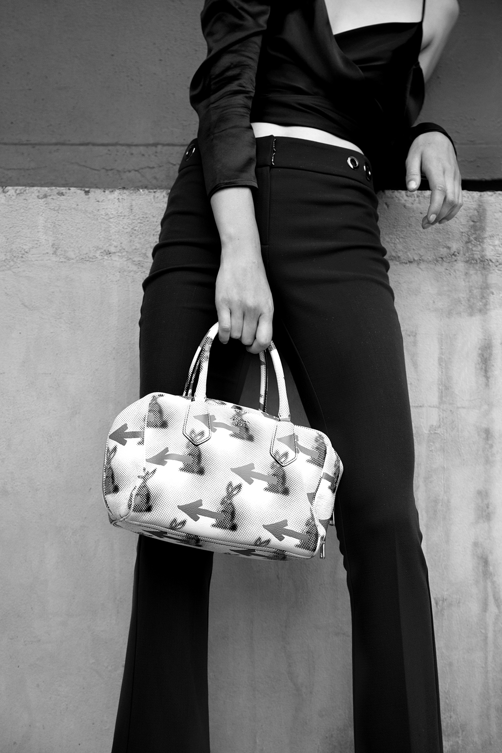Emily Rink Photographed by Adam Bryce and Styled By Chloe Hill for Oyster Mag Feat Prada Resort 2015 bag