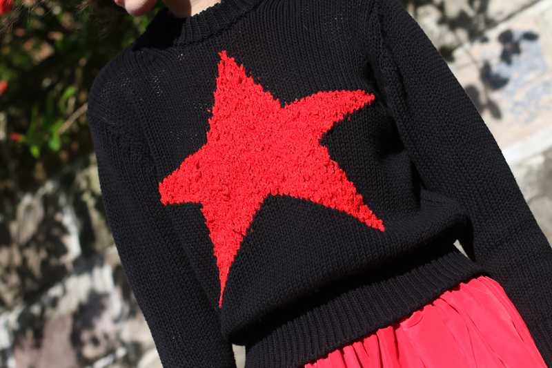 jumper Red Star dan diesel hitam Chill Chloe fesyen blog
