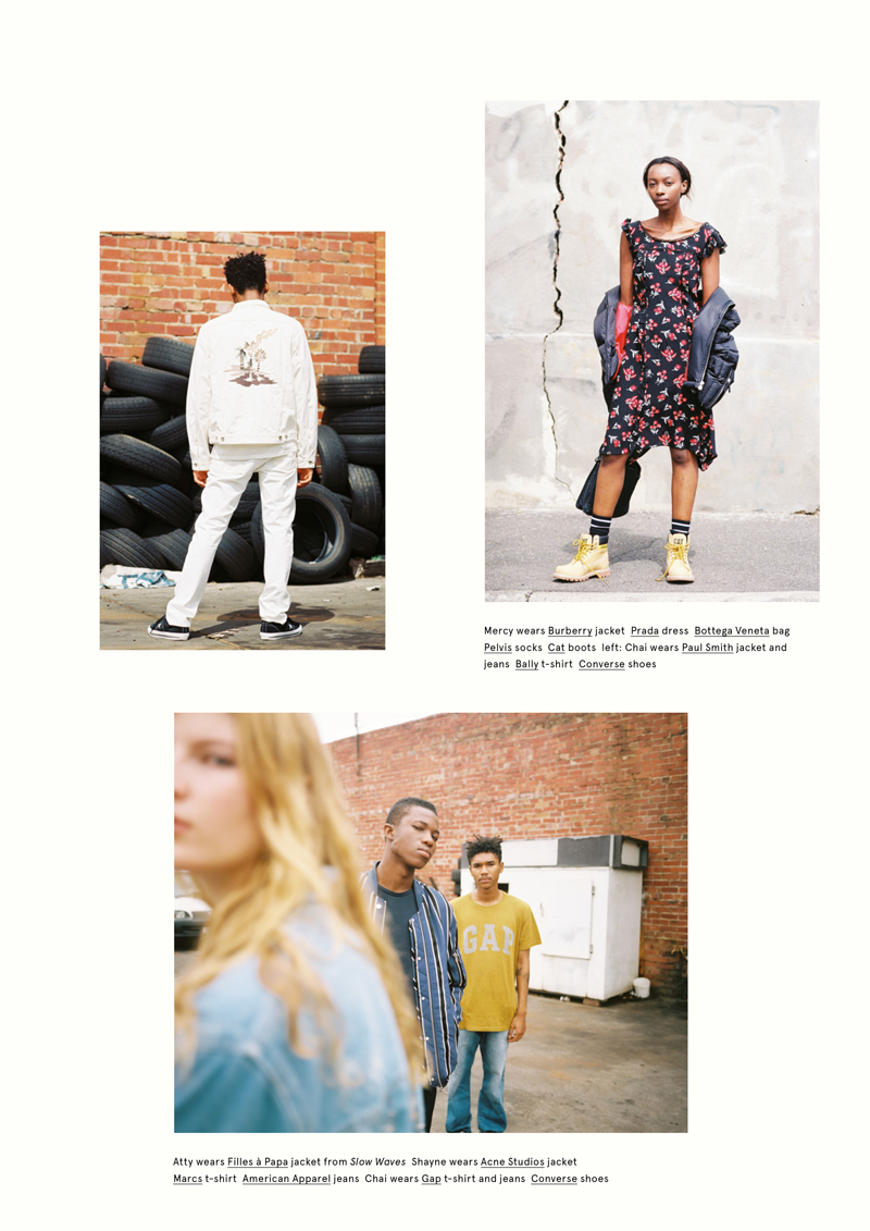 'True' Oyster Issue 108 Styled by Chloe Hill