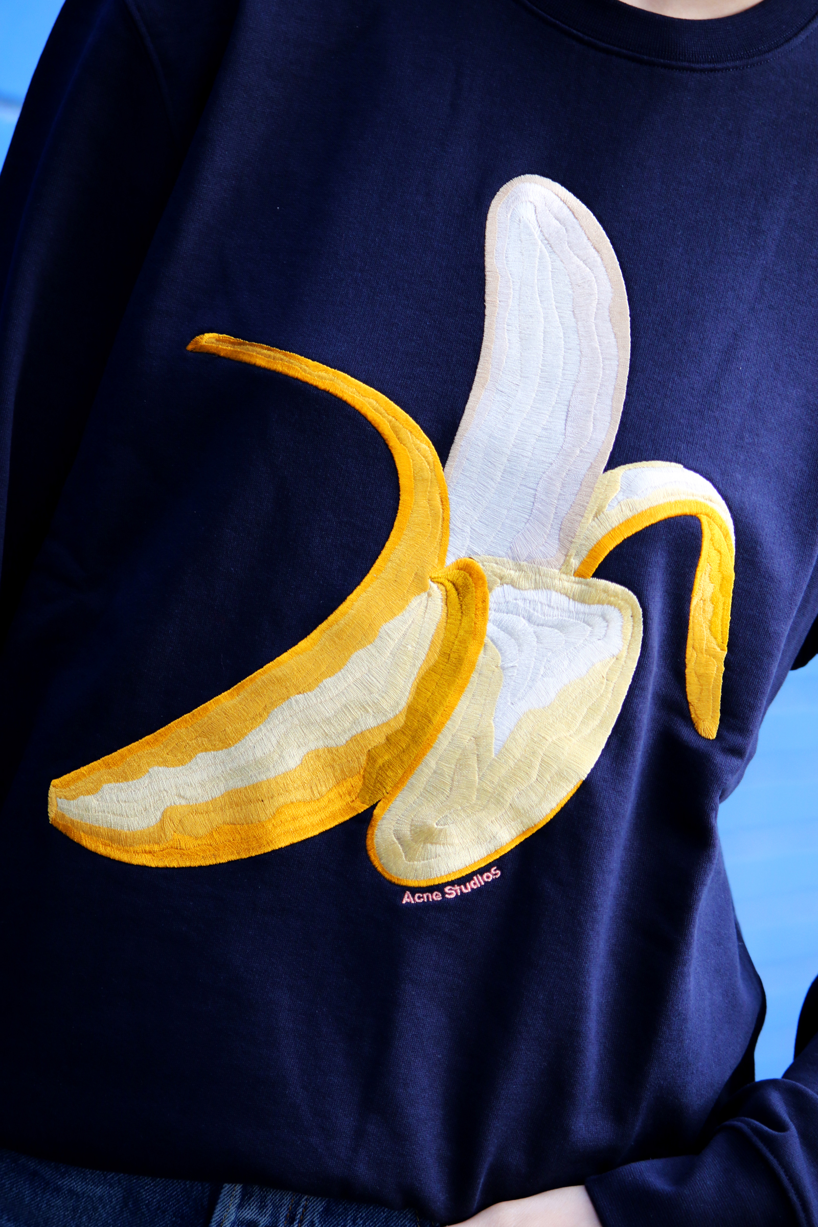 Acne Studios Banana Sweatshirt chloechill.com