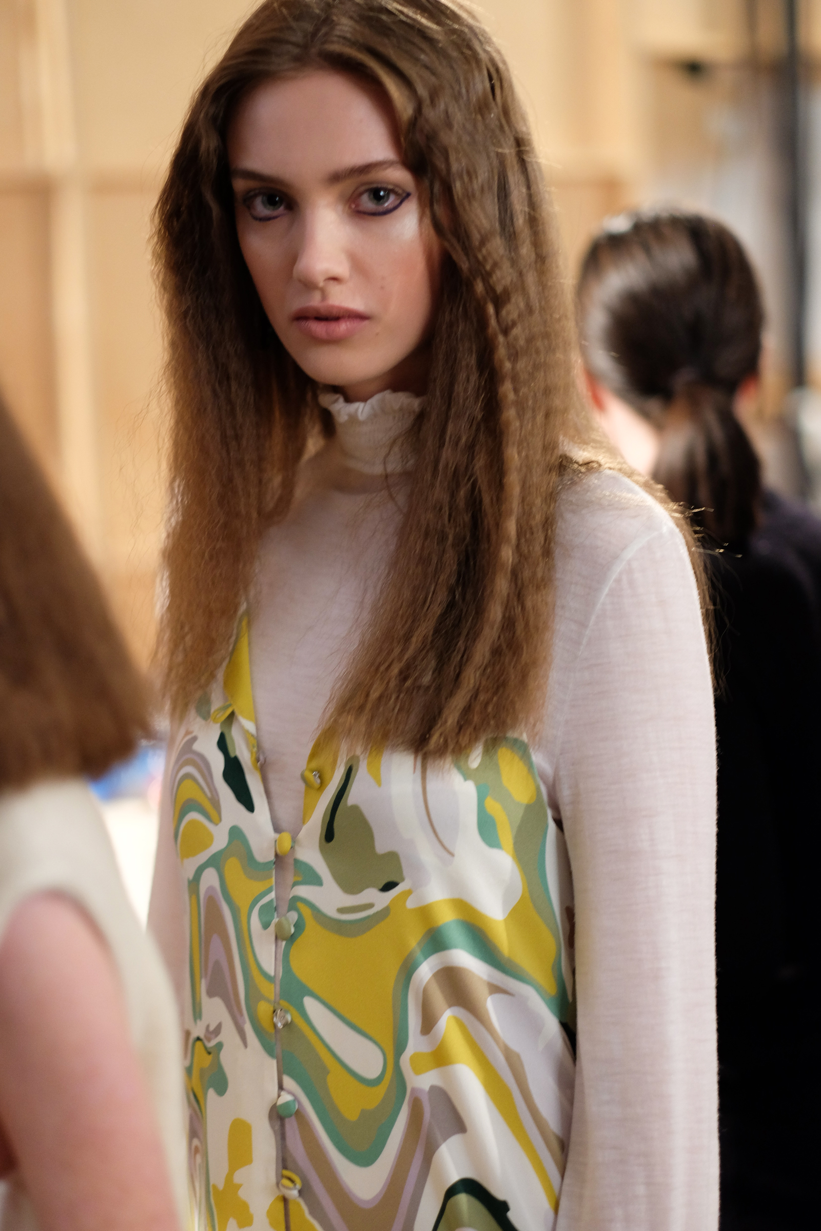 Model backstage at Lucilla Gray's NZFW show | Chloe Hill Fashion Week Coverage 2016