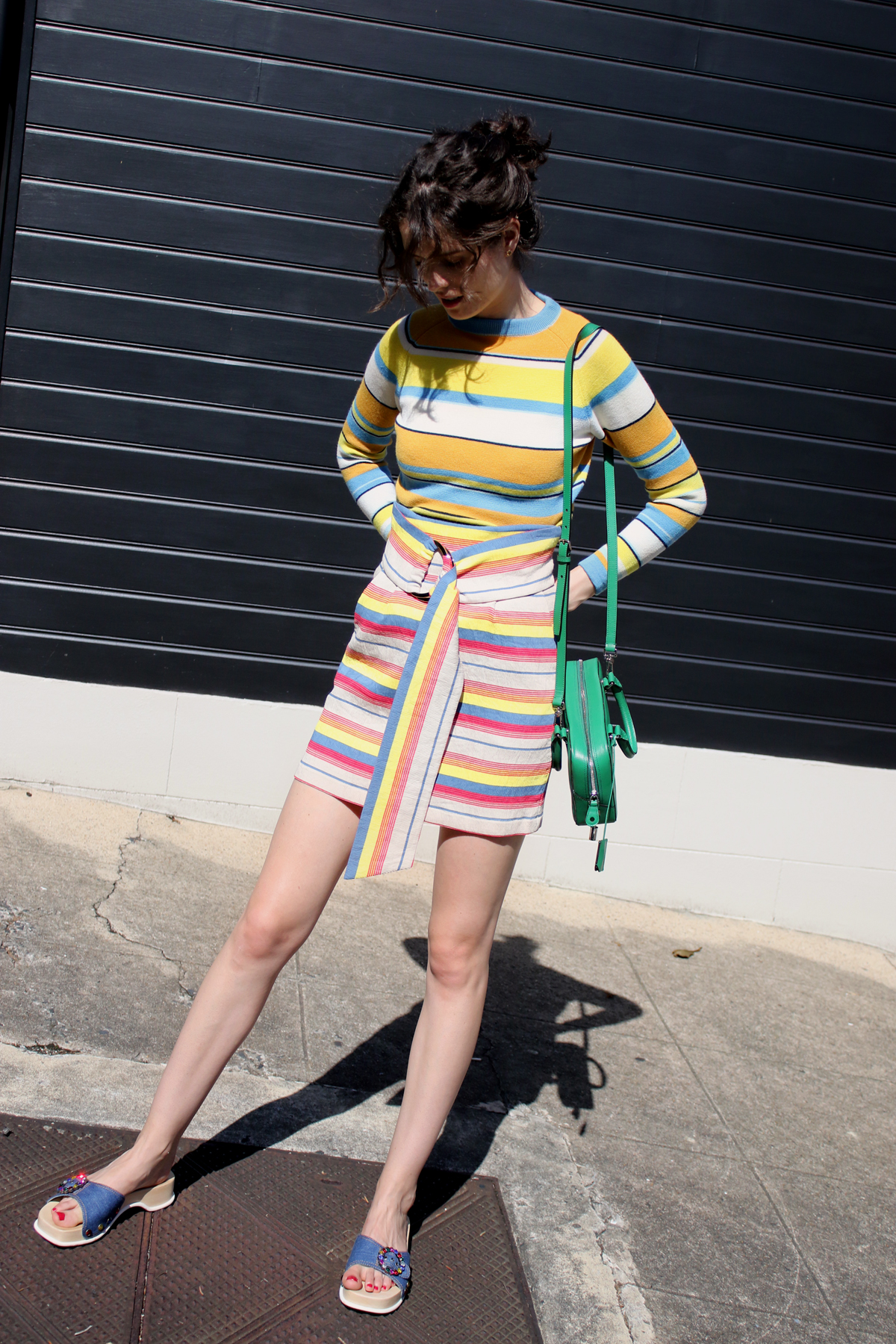 Kate Sylvester and vintage stripes