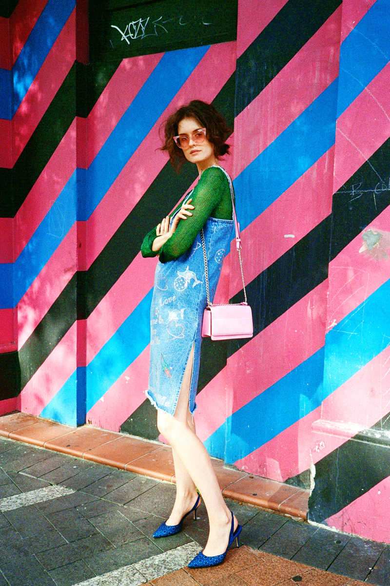 Chloe Hill On Man Repeller - wearing trelise cooper, emma mulholland, pared eyewear, oroton and manolo blahnik