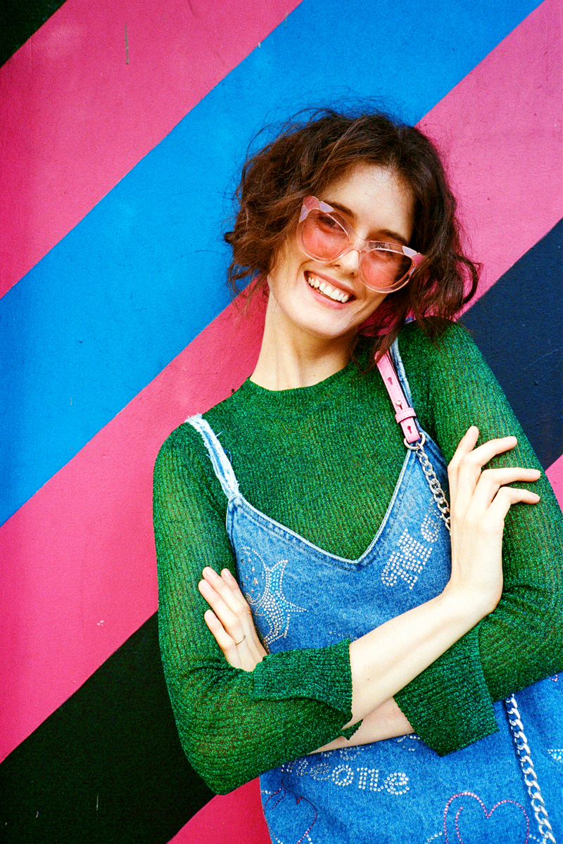 Chloe Hill On Man Repeller - wearing trelise cooper, emma mulholland, pared eyewear