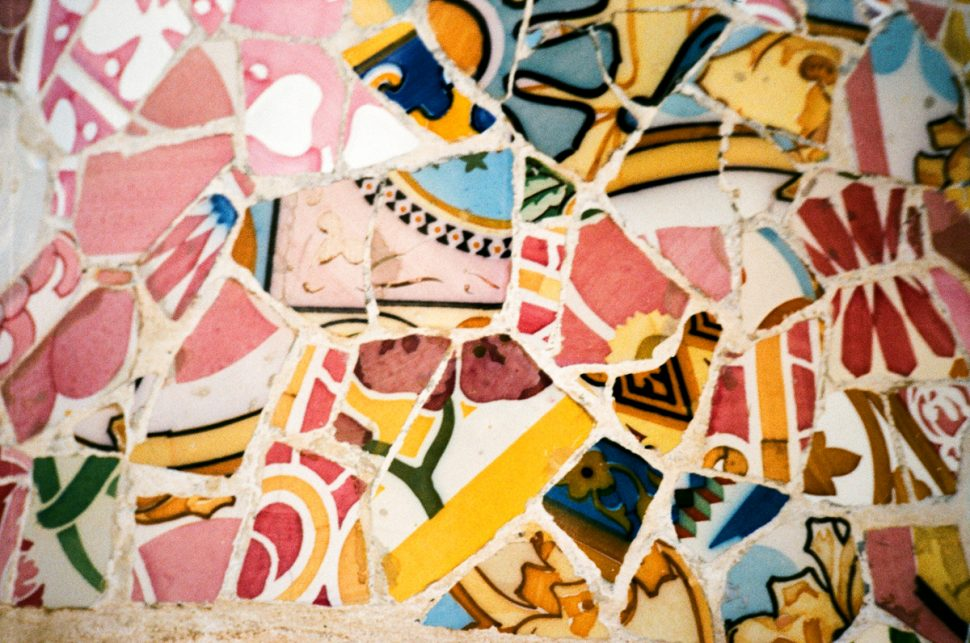 Barcelona Guide ceramic tiles at park guell