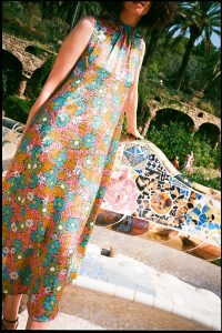 Barcelona Guide chloe hill in kate sylvester at park guell 3