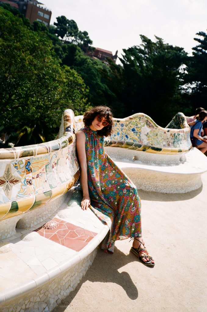 Barcelona Guide chloe hill in kate sylvester at park guell 4