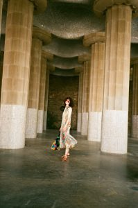 Barcelona Guide chloe hill in kate sylvester at park guell 5