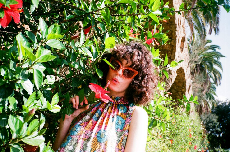 Barcelona Guide chloe hill in kate sylvester at park guell