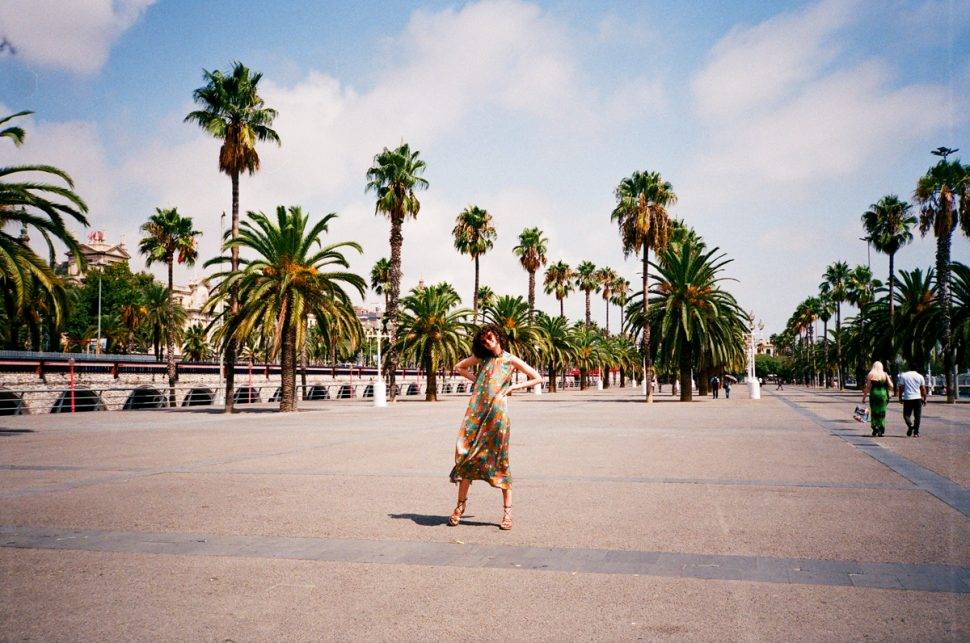 Barcelona Guide palm trees chloe hill in kate sylvester