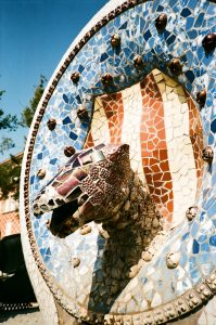 ceramic tiles at parc Guell