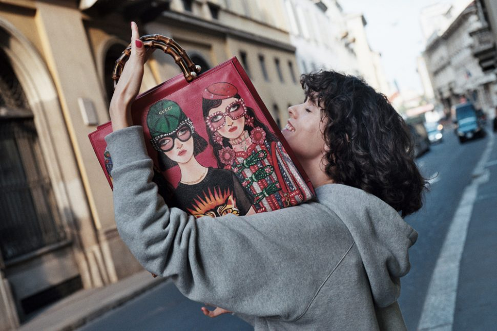 Gucci Creative Director Alessandro Michele collaborates with Unskilled Worker for online exclusive