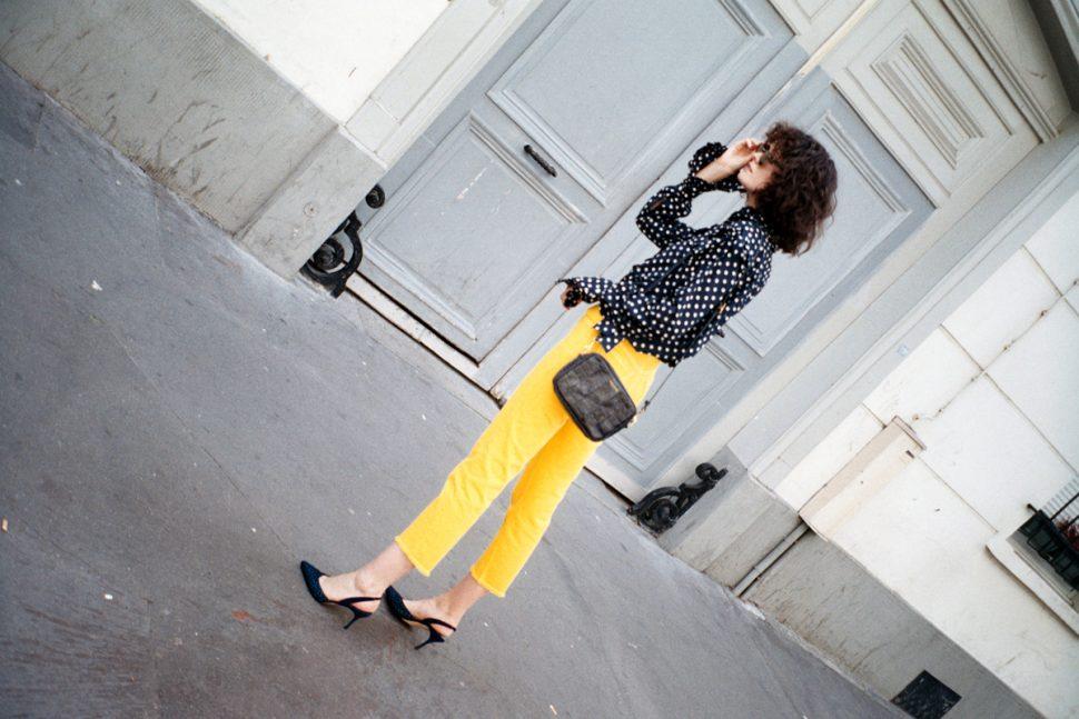Vale Denim yellow jeans
