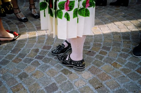 Gucci Alessandro Michele Cyborg FW18 collection MFW CHLOE HILL FASHION WEEK DIARY 18