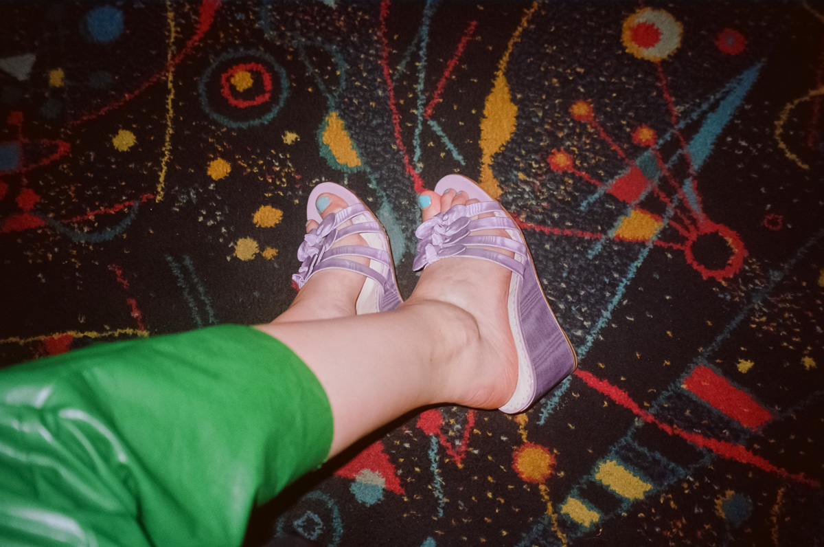 MR by Man repeller bow wedge heels 1
